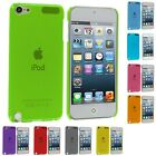 Color Ultra Thin Snap-On Hard Transparent Cover Case for iPod Touch 5th Gen 5G 5