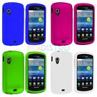 Color Hard Snap-On Rubberized Case Cover Accessory for Samsung Stratosphere i405