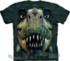 Child REX PORTRAIT T-rex  The Mountain T Shirt All Sizes 4 -14 Years 15-3569