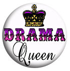 Drama Queen, Diva, Novelty/Message, Badges, Pocket Mirror, Magnet, Bottle Opener
