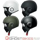 SHARK RAW BLANK URBAN CRUISER OPEN FACE MOTORCYCLE SCOOTER GOGGLES CRASH HELMET