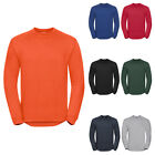 New RUSSELL Workwear Crew Neck Sweatshirt in 4 colours XS S M L XL XXL 3XL 4XL