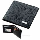 Mens Leather Bifold Wallet Purse Passcase Coin Credit Card Photo Slots Clutch