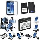 Battery/Desktop Charger/Car Mount Holder For Samsung Galaxy S3 i9300 i9305