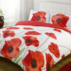 LUXURIOUS AMAPOLA DUVET COVERS - BEAUTIFUL FLORAL PATTERN - FREE PILLOWCASES!