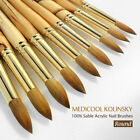 Medicool Kolinsky German Made 100% Sable Brushes Round