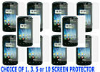 1,3,5 OR 10 Clear Film Screen Protector For Verizon LG Enlighten Slider Phone