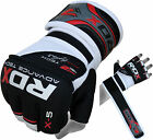RDX Gel MMA Grappling Gloves Boxing Hand Wraps Punch Bag Fight UFC Pad CA