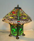 New Tiffany Style Green Dragonfly Table Lamp Stained Glass Tiffany lighting