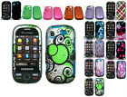 Any Cover Rubber Feel Skin Hard Case For Samsung Messager Touch R630/R631 Phone