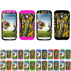 Mossy Branch Camo Impact Hybrid Hard Case Cover for Samsung Galaxy S4 S IV i9500