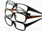 Designer RETRO Style READING GLASSES +1.0 1.5 2.0 2.5 3 Tortoiseshell / Black