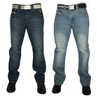 NEW MENS KAM JEANS K121-72 DESIGNER STRAIGHT LEG JEANS ALL WAIST AND LEG SIZES