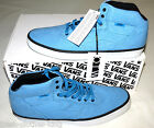 Vans Off The Wall Shoes New OTW Piercy Stone Washed Blue Mid Choose Size
