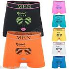 New Mens Sunglasses Kiss Lips Print Boxer Shorts Boxers Underwear Size S M L XL