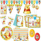 New Winnie the Pooh Party Supplies Tableware Birthday Decorations all here