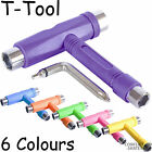 "Roller Derby Rollerskate 5-Way ""T"" Skate Tool Quad Skates Choose Colour"