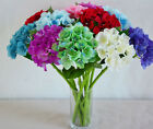 "17"" Artificial Silk Hydrangea Flower Floral Wedding Home Decor Many Color Choose"