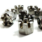 M5 M6 M8 M10 M16 M20, A2 STAINLESS CASTLE NUTS, SLOTTED NUT METRIC DIN 935