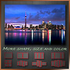 ' Toronto in Canada Night Skyline ' Cityscape Modern Canvas Box ~ Ready to Hang