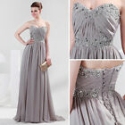 Off Shoulder Sweetheart New Bridesmaid Formal Ball Evening Prom Party Long Dress