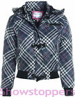 NEW GIRLS JACKET COAT Padded Girls HOODED SCHOOL CLOTHING AGE 7 8 9 10 11 12 13