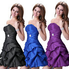 Homecoming Sexy Bridesmaid Party Evening Cocktail  Prom Ball Gown Short Dresses