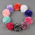 Blooming Flowers Brooch Hair Pins Clips Shoes Accessory Decoration Silk Lace New