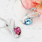 Charming New 18K Gold Plated Necklace & Pendant Using Swarovski Crystal Element