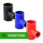 57mm - Silicone Hose T-Piece TPieces Tee -Silicon Joiner Rubber Coolant Radiator
