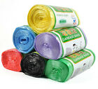 1-Roll(50pcs) Family Thicken Disposable Garbage Handle Fresh Color Waste Bags