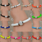 # Korean Girl/Boy Men Cute Sweet Jewelry Charm Chain Bangle Rhinestone Bracelet