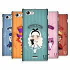 HEAD CASE DESIGNS ALICE IN WONDERLAND DESIGN CASE COVER FOR SONY XPERIA J ST26i
