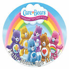 Care Bears Personalised Edible Rice/Icing Cake Topper 7.5 inch Circle