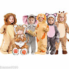 *Deluxe Boys Girls Baby Toddler Animal Zoo Halloween Fancy Dress Costume Onesie*