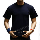 Men HEAVY WEIGHT T-Shirt Plain Crew Neck Fashion Casual Hipster GYM BIG AND TALL