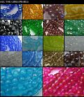 *CLEARANCE* 200 x 4mm/ 100 x 6mm Crystal Glass Round Beads. *CLEARANCE*