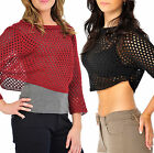 Jumper for Womens Cropped Crop Knitted Whole Top Brand New with Tags