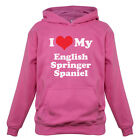 I Love My English Springer Spaniel - Kids / Childrens Hoodie - Dog - Canine