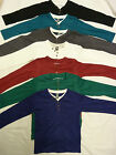 NEW KIDS ZARA BOYS COTTON LONG SLEEVED TOP SHIRTS ALL COLOURS AGES 2 - 14 YEARS