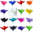 30PCS Ostrich Feathers approx 35-40cm/14-16inch wedding party Xmas Decorations