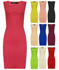 Womens Bodycon Mini Dress Square Neck Black Cream Pink Ladies New Size 8-16