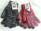 MEN'S LADIES THERMAL TOUCH SCREEN MOBILE PHONE WINTER GLOVES IPAD IPHONE