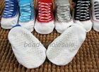 New Cute Born Baby Infant Soft Canvas Style Anti-skidding Shoes Design Socks