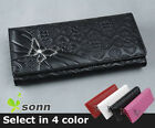 Butterfly Heart Lady Women Long Wallet Purse Card Holder Coin Bag