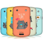 HEAD CASE DESIGNS WILBUR THE CAT CASE COVER FOR BLACKBERRY BOLD TOUCH 9900