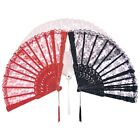 Lace Fan Costume Accessory for Geisha Victorian Historical Lady Costumes
