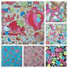 FUNKY PRINTED RIPSTOP FABRIC - MORE  FAB DESIGNS 150CM WIDE WIPE CLEAN like pvc