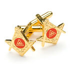 New Superb Quality Masonic Royal Arch Cufflinks Gold Plated