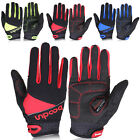 PJ Men's Cycling Outdoor Sports Bike Bicycle Full Finger Comfy Gloves S M L
